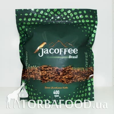 Кофе растворимый Jacoffee Brazil, 400 g